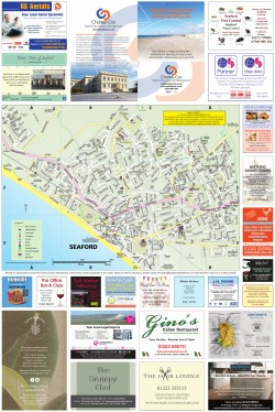 Seaford Map | Local Authority Publishing