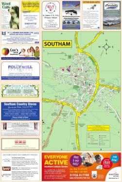 Southam Map | Local Authority Publishing